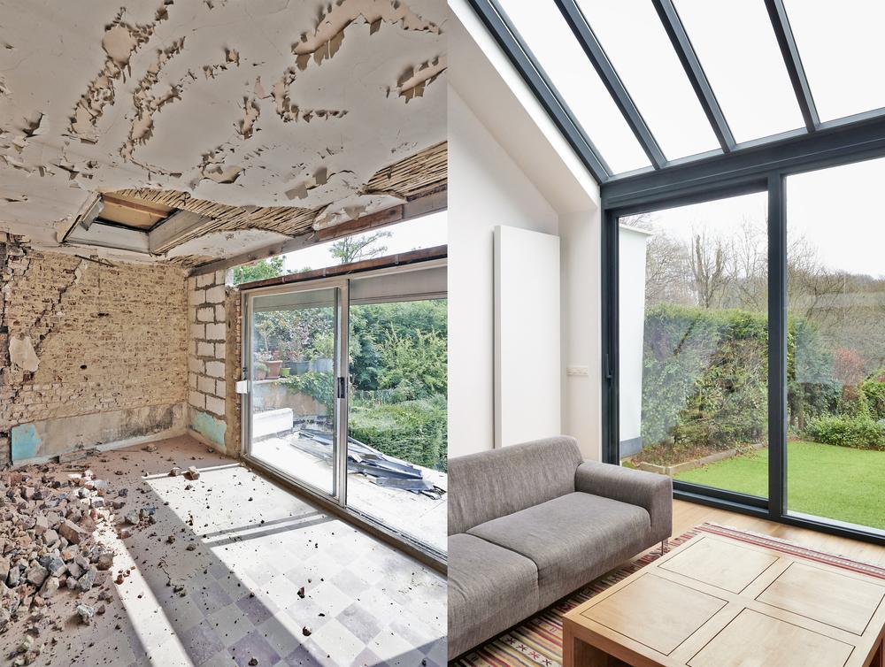 rénovation intérieure Ai Concept Rénovation salon